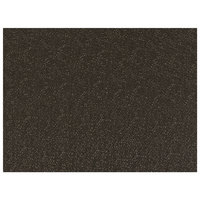 H. Risch, Inc. GA-8000 16 inch x 12 inch Truffle Vinyl Rectangle Placemat - 12/Pack