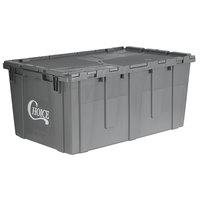 Choice 25 inch x 15 inch x 12 inch Gray Chafer / Storage Box