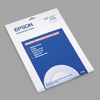 Epson S041339 8 1/2 inch x 11 inch Premium Semi-Gloss 68# Photo Paper - 20 Sheets