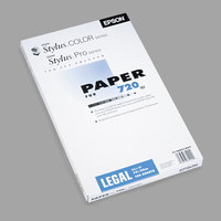 Epson S041070 8 1/2 inch x 14 inch Matte Presentation 27# Paper- 100 Sheets