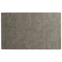 H. Risch, Inc. SP-0002 Seaport 17 1/2 inch x 12 inch Bluff Woven Vinyl Rectangle Placemat