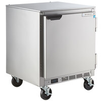 Beverage-Air UCR27HC 27 inch Shallow Depth Low Profile Undercounter Refrigerator
