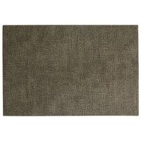 H. Risch, Inc. SP-0003 Seaport 17 1/2 inch x 12 inch Mangrove Woven Vinyl Rectangle Placemat