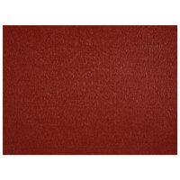 H. Risch, Inc. 12 inch x 16 inch Ruby Vinyl Rectangle Placemat - 12/Pack