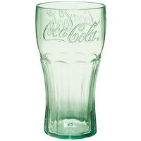 GET 1116-JC Coca-Cola® Bell 16 oz. Jade SAN Plastic Tumbler - 72/Case
