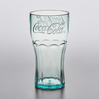 GET 1116-JC Bell 16 oz. Jade Coca-Cola® SAN Plastic Soda Glass - 72/Case