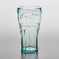 GET 1126-JC Bell 26 oz. Jade Coca-Cola® SAN Plastic Soda Glass - 72/Case