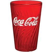 GET 2220-RC Tahiti 20 oz. Red Coca-Cola® SAN Plastic Tumbler - 72/Case
