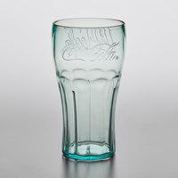 GET 1120-JC Bell 20 oz. Jade Coca-Cola® SAN Plastic Soda Glass - 72/Case