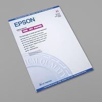 Epson S041079 16 1/2 inch x 23 1/2 inch White 27# Matte Inkjet Presentation Paper - 30/Sheets