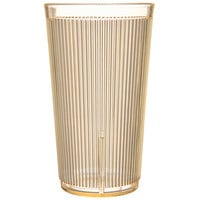 Carlisle 403522 20 oz. Yellow Crystalon RimGlow Polycarbonate Tumbler - 48/Case