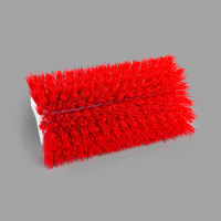Carlisle 4042305 Sparta Spectrum 10 inch Hi-Lo Red Floor Scrub Brush