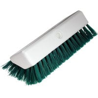 Carlisle 4042309 Sparta Spectrum 10 inch Hi-Lo Green Floor Scrub Brush