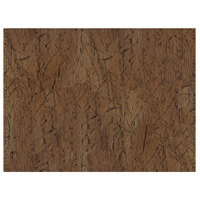 H. Risch, Inc. 12 inch x 16 inch Customizable Russet Driftwood Premium Sewn Rectangle Placemat