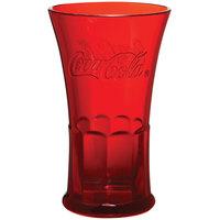 GET 1114-RC Coca-Cola® Flare 16 oz. Red SAN Plastic Tumbler - 72/Case