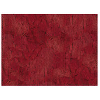 H. Risch, Inc. 12 inch x 16 inch Customizable Scarlet Driftwood Premium Sewn Rectangle Placemat