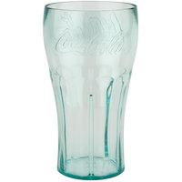 GET 1122-JC Bell 22 oz. Jade Coca-Cola® SAN Plastic Soda Glass - 72/Case