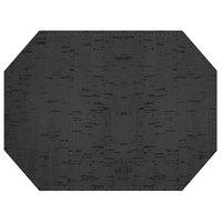 H. Risch, Inc. PLACEMATDXOCT-VINOSLATE Vino 16 inch x 12 inch Customizable Slate Premium Sewn Faux Cork Octagon Placemat