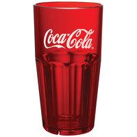 GET 9922-RC Coca-Cola® Bahama 24 oz. Red SAN Plastic Tumbler - 72/Case