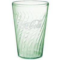 GET 2224-JC Tahiti 24 oz. Jade Coca-Cola® SAN Plastic Tumbler - 72/Case