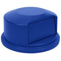 Rubbermaid 1834840 BRUTE 44 Gallon Blue Dome Top Trash Can Lid