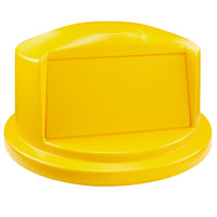 Rubbermaid 1829399 BRUTE 32 Gallon Yellow Dome Top Trash Can Lid