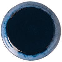 World Tableware STONE-2 Stonewash 8 5/8 inch Deep Blue Stoneware Plate - 12/Case