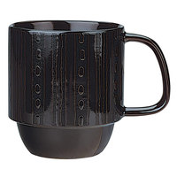 World Tableware AFAR-6B Afar 12 oz. Brown Stoneware Mug - 12/Case