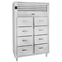 Traulsen RFS226N-1 39.6 Cu. Ft. Two Section Drawered Fish / Poultry File - Specification Line