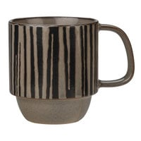 World Tableware AFAR-2T Afar 12 oz. Tan Stoneware Mug - 12/Case