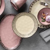 World Tableware DULCET-2C Dulcet 8 5/8 inch Cream Stoneware Salad Plate - 12/Case