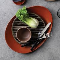 World Tableware AFAR-1T Afar 8 5/8 inch Tan Stoneware Salad Plate - 12/Case