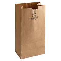 Duro Husky Dubl Life 8 lb. Heavy Duty Brown Bag - 400/Bundle