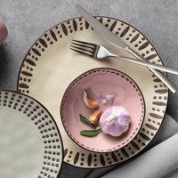 World Tableware DULCET-3P Dulcet 14 oz. Pink Stoneware Soup Bowl - 12/Case