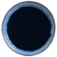 World Tableware STONE-3 Stonewash 10 7/8 inch Deep Blue Stoneware Plate - 12/Case