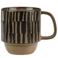 World Tableware AFAR-8C Afar 12 oz. Cream Stoneware Mug - 12/Case