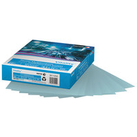 Xerox 3R11050 Vitality Pastel 8 1/2 inch x 11 inch Blue Ream of 20# Multipurpose Printer Paper - 500 Sheets