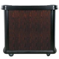 Carlisle 7550094 Cherry Wood Maximizer Portable Bar - 56 inch x 26 1/2 inch x 48 inch