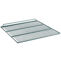 Avantco 178SHELFCFD3 Middle Gray Coated Wire Shelf - 22 1/8 inch x 25 3/16 inch