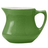Hall China 30195W324 Shamrock 3.5 oz. Empire Creamer - 24/Case