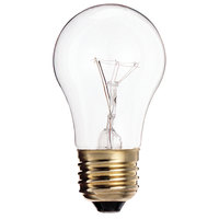 Satco S3810/TF 40 Watt Clear Finish Incandescent Light Bulb, 130V (A15)