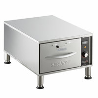 ServIt WDNFS-1 Single Narrow Freestanding Drawer Warmer - 450W, 120V