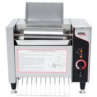 APW Wyott M-2000 Vertical Conveyor Bun Grill Toaster - 208V
