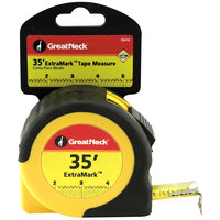 GreatNeck 95010 ExtraMark 1 inch x 35' Steel Tape Measure
