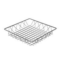 Delfin WBK-12-PC62 Simply Steel 12 inch x 12 inch x 2 inch Steel Wire Bakery Basket