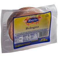 Kunzler 12 oz. Sliced Bologna   - 8/Case