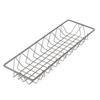 Delfin WBK-186-PC62 Simply Steel 18 inch x 6 inch x 2 inch Steel Wire Bakery Basket