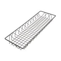 Delfin WBK-248-PC62 Simply Steel 24 inch x 8 inch x 2 inch Steel Wire Bakery Basket