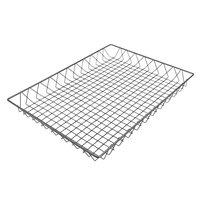 Delfin WBK-2418-PC62 Simply Steel 24 inch x 18 inch x 2 inch Steel Wire Bakery Basket