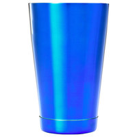 Barfly M37083BL 18 oz. Blue Half Size Cocktail Shaker Tin